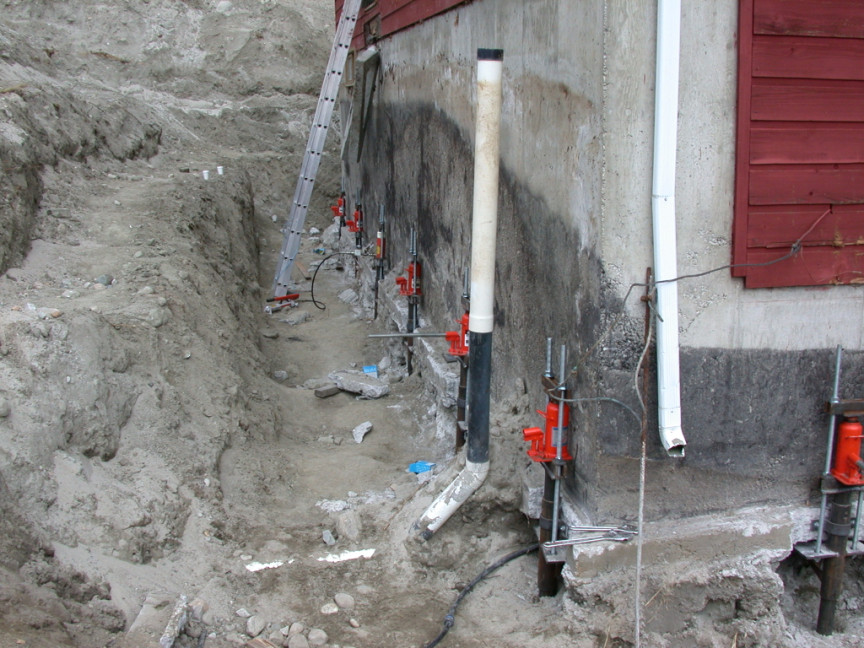 Foundation underpinning iconstruction in order to make the right decision it is first necessary to assess the foundation structure the type of supports used and the exact cause of the solutioingenieria Images